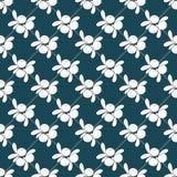 Nahtloses Muster mit Blaubeeren Lizenzfreies Stockbild