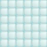 Nahtloses Muster mit blauen quadratischen Knöpfen Stockfotos