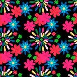 Nahtloses Muster mit Blume Lizenzfreies Stockbild