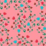 Nahtloses Muster mit Blume Lizenzfreie Stockfotos