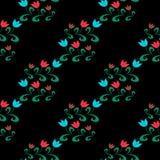 Nahtloses Muster mit Blume Lizenzfreie Stockfotografie