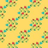 Nahtloses Muster mit Blume Stockfotografie