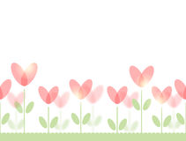 Nahtloses Muster mit Blumen Stockbild