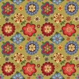 Nahtloses Muster mit Blumen Stockfotografie