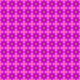 Nahtloses Muster mit Blumen stock abbildung