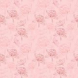 Nahtloses Muster mit Blumen Lizenzfreies Stockbild