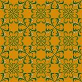Nahtloses Muster mit Blumenfrühlingswiese, Feld Stockfotos