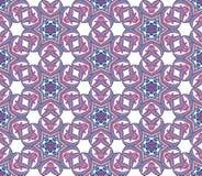 Nahtloses Muster mit Blumenmandalen Dekorative Elemente der Weinlese Orientalisches Muster im Stil des Islams, arabisch Lizenzfreies Stockbild