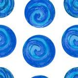 Nahtloses Muster mit bunten Kreisen auf einem weißen Hintergrund ENV, JPG Stockbilder