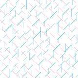 Nahtloses Muster mit chaotischen kurzen Linien Auch im corel abgehobenen Betrag vektor abbildung