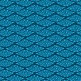 Nahtloses Muster mit dekorativer Linie Lizenzfreies Stockfoto