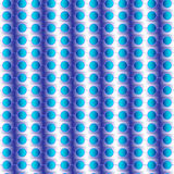 Nahtloses Muster mit den Kreisen blau Lizenzfreie Stockfotos