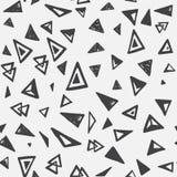 Nahtloses Muster mit Dreiecken Lizenzfreies Stockfoto