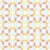 Nahtloses Muster mit Eiscreme und Süßigkeit Lizenzfreie Abbildung