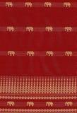 Nahtloses Muster mit Elefanten Stockfoto