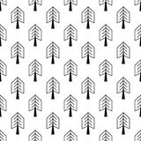 Nahtloses Muster mit Entwurfsanschlagikonen mit Locke Stockbilder