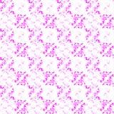 Nahtloses Muster mit Farbkreis Stockbilder