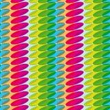 Nahtloses Muster mit Farbovalen für Design, Kindermuster Stockfotos