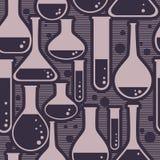 Nahtloses Muster mit Flasche Lizenzfreies Stockbild