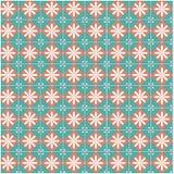 Nahtloses Muster mit geometrischem Muster stock abbildung