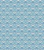 Nahtloses Muster mit geometrischen abstrakten Formen und Blumen. Lizenzfreies Stockfoto