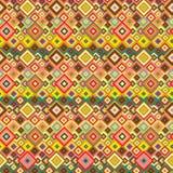 Nahtloses Muster mit geometrischen Elementen Stockfotografie