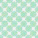 Nahtloses Muster mit geometrischen Elementen Stockfotos