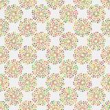 Nahtloses Muster mit geometrischen Elementen Stockbilder