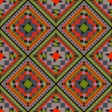 Nahtloses Muster mit geometrischen Mustern stockbild
