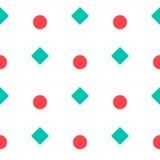 Nahtloses Muster mit geometrischer Form Lizenzfreie Stockfotos