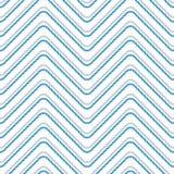Nahtloses Muster mit gestreckten Winkeln Gebogene Threads und Seile Optische Täuschung der Bewegung Stockbilder