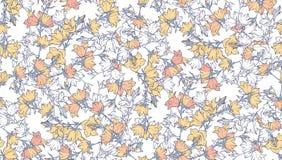 Nahtloses Muster mit Glockenblumen Muster 08 Stockfoto