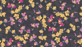Nahtloses Muster mit Glockenblumen Muster 08 Lizenzfreies Stockfoto