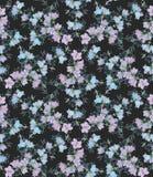 Nahtloses Muster mit Glockenblumen Muster 08 Lizenzfreie Stockfotos