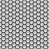 Nahtloses Muster mit Hexagonen Stockfotografie