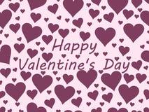 Nahtloses Muster mit Inneren Valentinsgruß `s Tag Vektor Vektor Abbildung