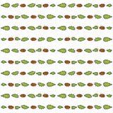 Nahtloses Muster mit Kaktusfeigekaktus Stockfotos