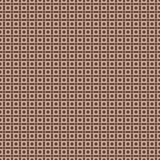 Nahtloses Muster mit karierten Formen im Retrostil. Stock Abbildung