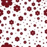 Nahtloses Muster mit Kirschblüte Stockfotos