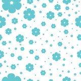 Nahtloses Muster mit Kirschblüte Lizenzfreie Stockfotos
