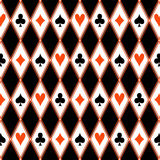 Nahtloses Muster mit Klagen Stockfoto