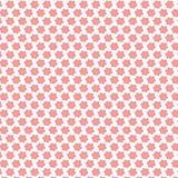Nahtloses Muster mit kleinen Blumen Stockbild