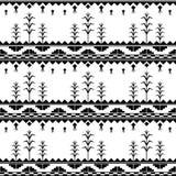 Nahtloses Muster mit Mais Stockfoto