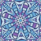 Nahtloses Muster mit Mandala Stockfotografie