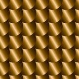 Nahtloses Muster mit Nachahmung von Metallskalen Lizenzfreie Stockbilder