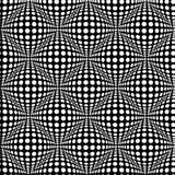 Nahtloses Muster mit optischem Effekt 3D Lizenzfreies Stockfoto