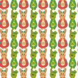 Nahtloses Muster mit Ostern bunny-12 Stockfoto