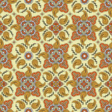 Nahtloses Muster mit Paisley Stockbilder