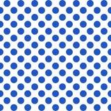 Nahtloses Muster mit Polkapunkten Stockfotografie