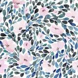 Nahtloses Muster mit reizenden Blumen Stockbilder